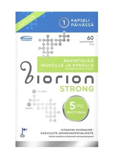 Biorion Strong 60 kaps 29,90 € (norm. 39,00 €)