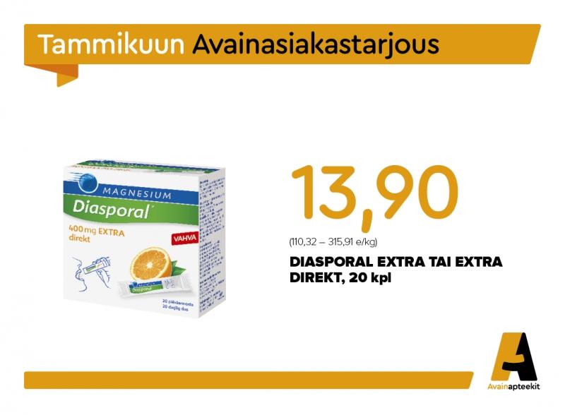 Tervetuloa maistamaan Diasporal-tuotteita tiistaina 21.1. klo 10-15!
