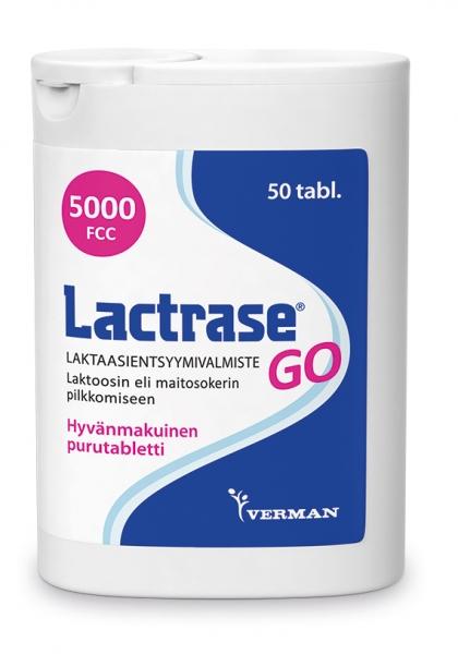 Lactrase GO 50 purutabl. 16,90 € (norm. 19,90 €)
