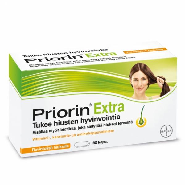 Priorin Extra 60 kaps. -15 %