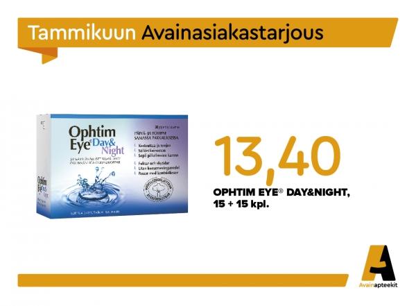 Ophtim Eye Day&Night, 15+15 kpl