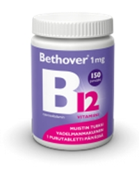 Bethover 1 mg 150 tabl. 24,90 € (norm. 29,20 €)